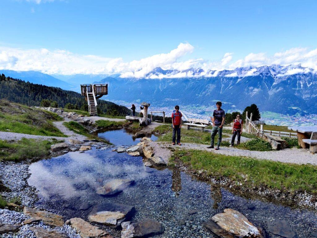 Innsbruck Zirbenweg Wanderung - sehr zu empfehlen mit Kindern!