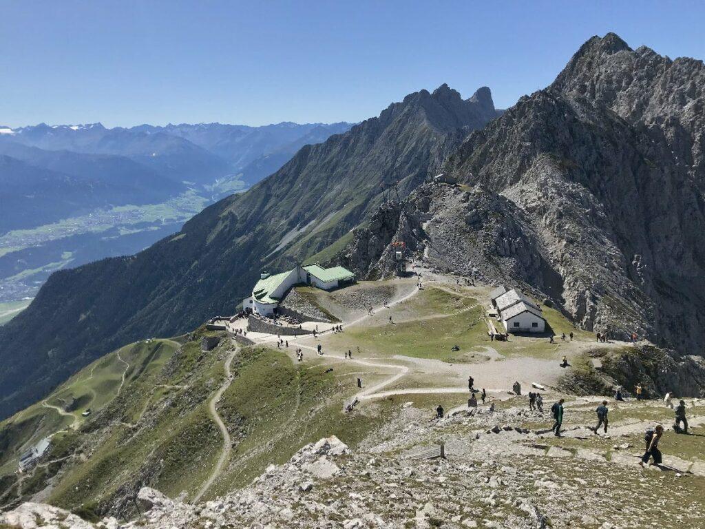 Ausflug zu den Innsbruck Sehenswürdigkeiten - das Hafelekar ist das Top of Innsbruck