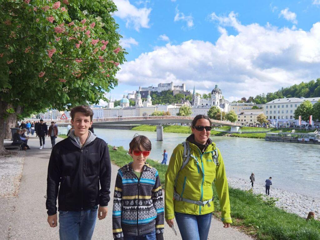 Jufa Hotels für eine Städtreise: Vom JUFA Hotel Salzburg zu Fuß zu den Sehenswürdigkeiten der Stadt