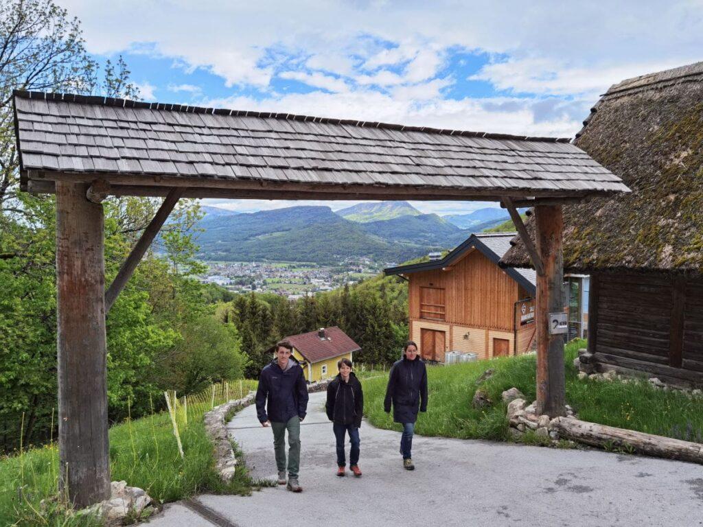 Unser Rundgang im Keltendorf Hallein, direkt neben den Salzwelten Salzburg