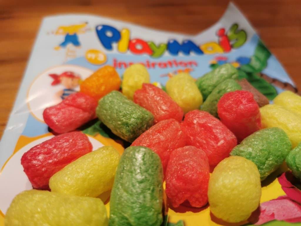 Kinderbeschäftigung Playmais - so kannst du basteln mit dem bunten Spielmais