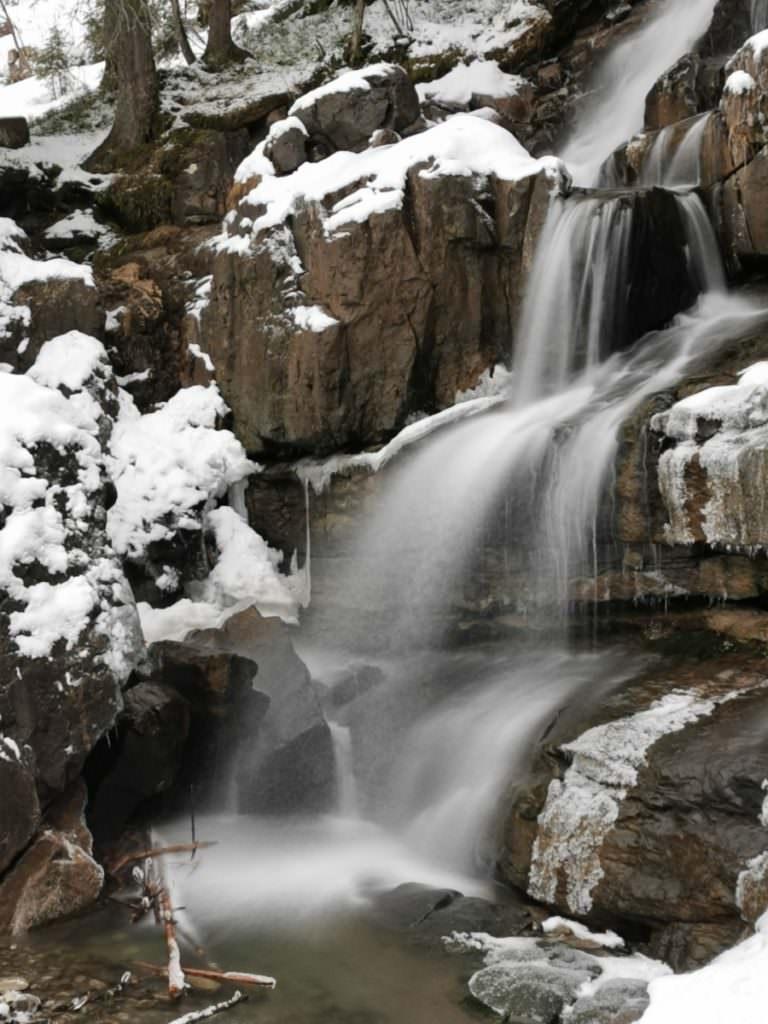 Kleinwalsertal Wasserfall - oberhalb der Alpe Melköde