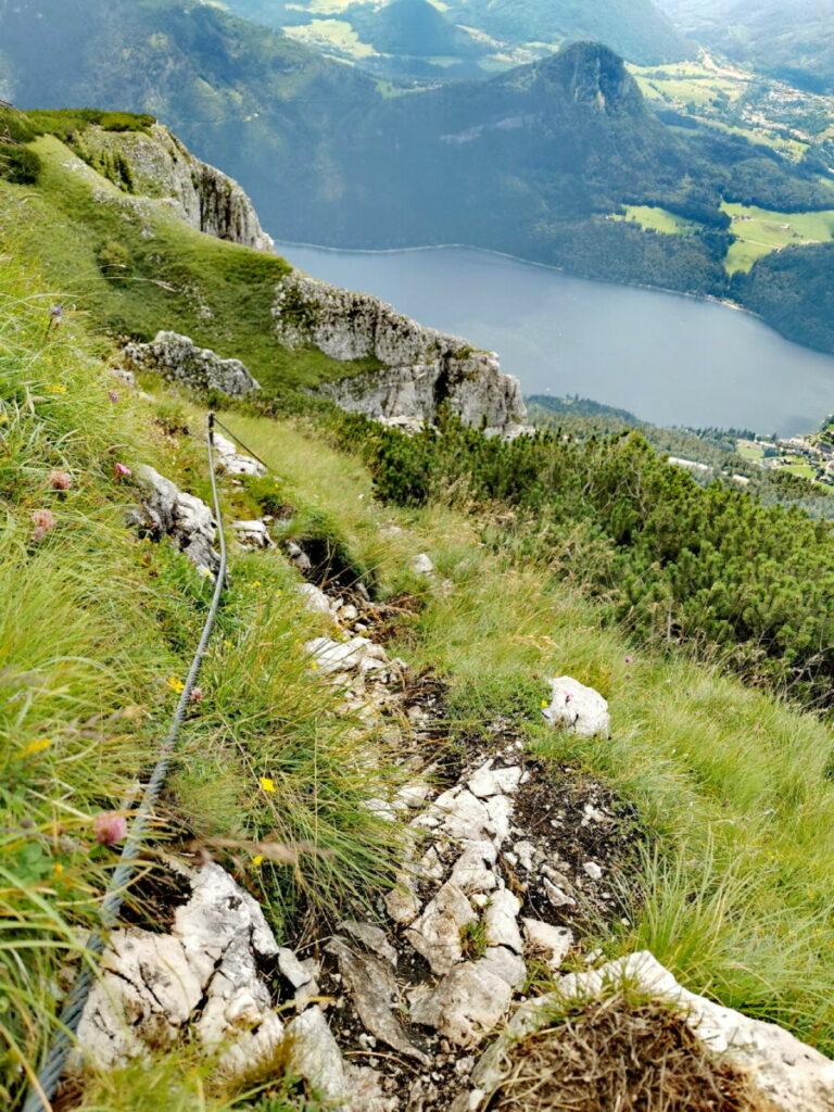 Klettersteig Loser - der anspruchsvolle Sissi Kletterstig zum Loser Gipfel