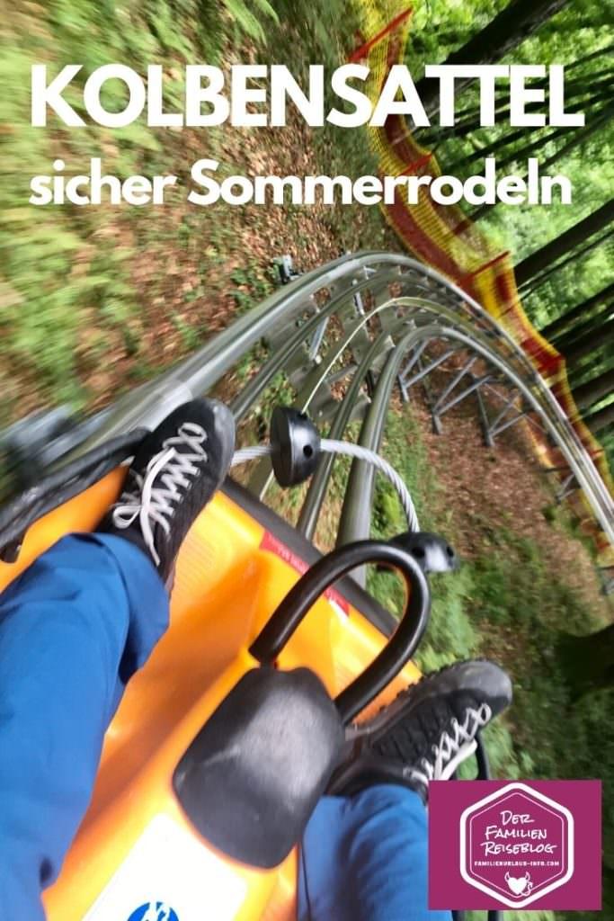 Unser Tag auf der Kolbensattel Sommerrodelbahn war super!