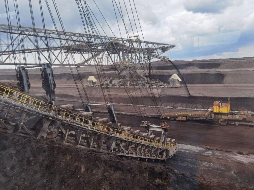 Auch das ist das Lausitzer Seenland: Der Aktive Tagebau in Welzow Süd