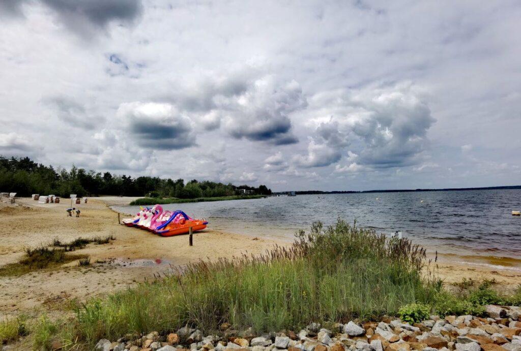 Familienurlaub am Lausitzer Seenland Strand