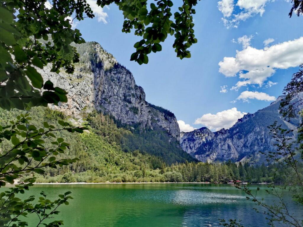 Der Leopoldsteinersee in Österreich