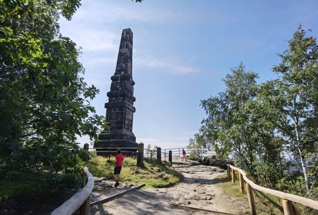 Sächsische Schweiz mit Kindern - unsere Wanderung zu einem der beiden Obelisken auf dem Lilienstein