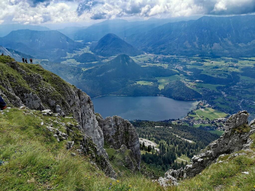 Deine Aussicht am Loser Gipfel über Altaussee und das Salzkammergut