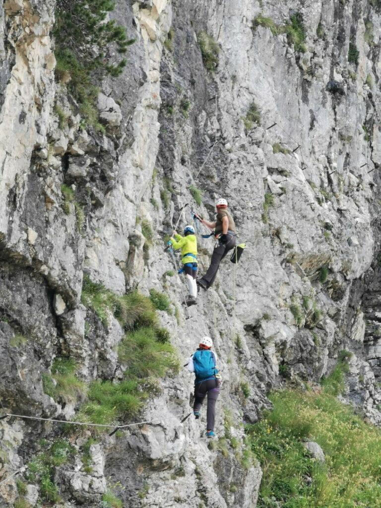 """Loser Klettersteig - hier der Familienklettersteig """"Sophie"""""""