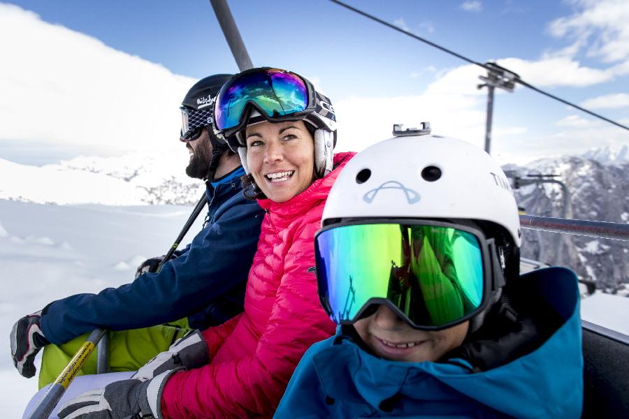 Hinauf ins Loser Skigebiet, Foto: Ausseerland Salzkammergut, Loser Bergbahnen, TomLamm
