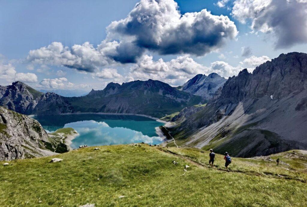 Lünersee Wanderung mit ganz viel Panorama