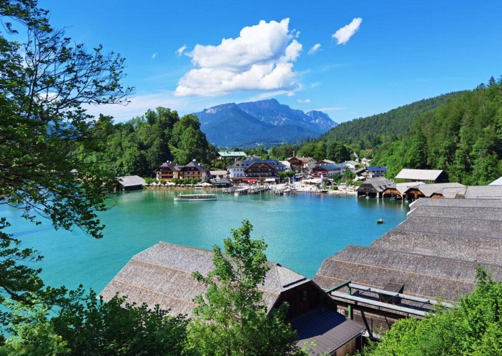 Der Malerwinkel - leichte Königsee Wanderung in Berchtesgaden mit Kindern