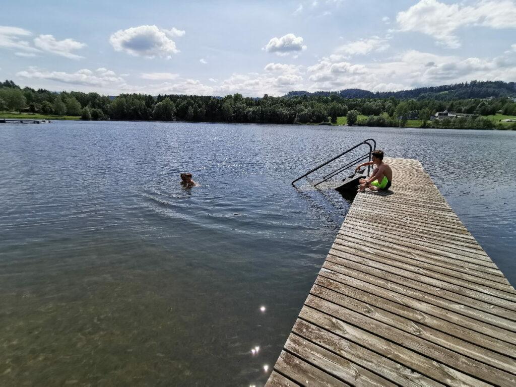 Maria Lankowitz - viel Platz für einen ruhigen Familienurlaub am See