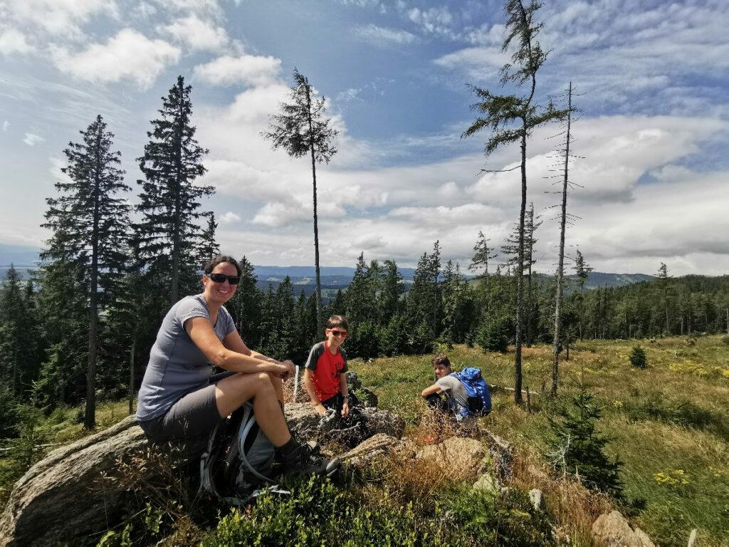 In Maria Lankowitz wandern - viele Ruhe am Berg haben wir genossen!