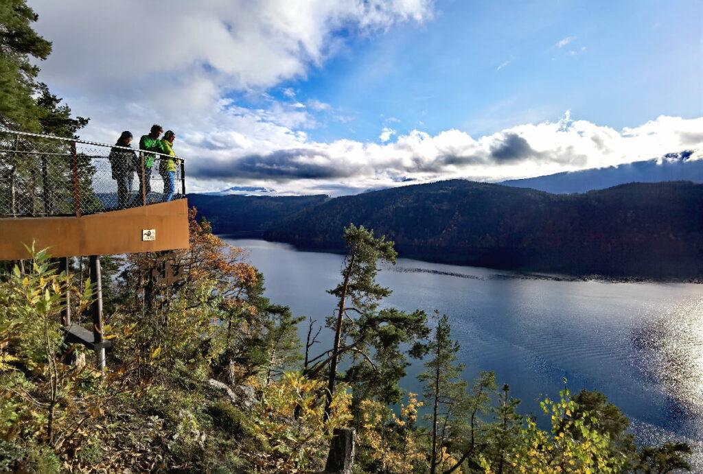 Zu den Aussichtspunkten am Millstätter See wandern - leichte Wanderungen mit Kindern!
