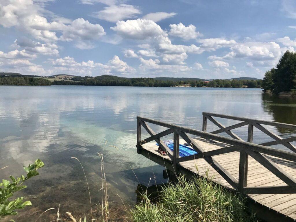 Murner See Rundweg - leicht zum Wandern mit Kindern Bayern