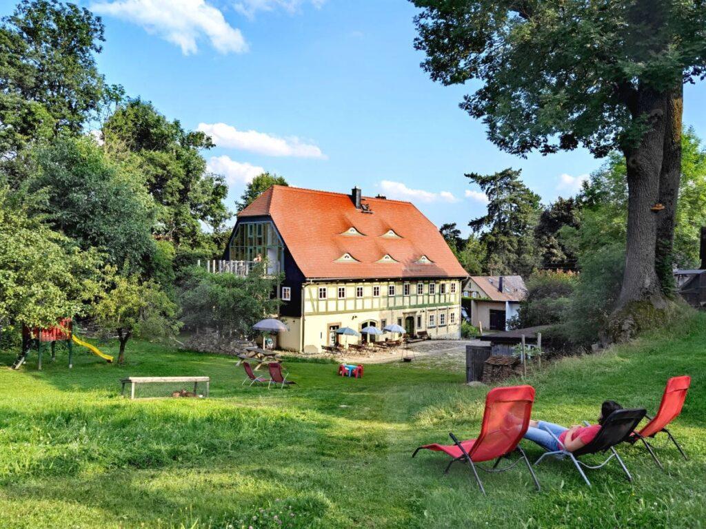 Idyllischer Oberlausitz Urlaub auf dem Bauernhof - herrlich zum Entspannen