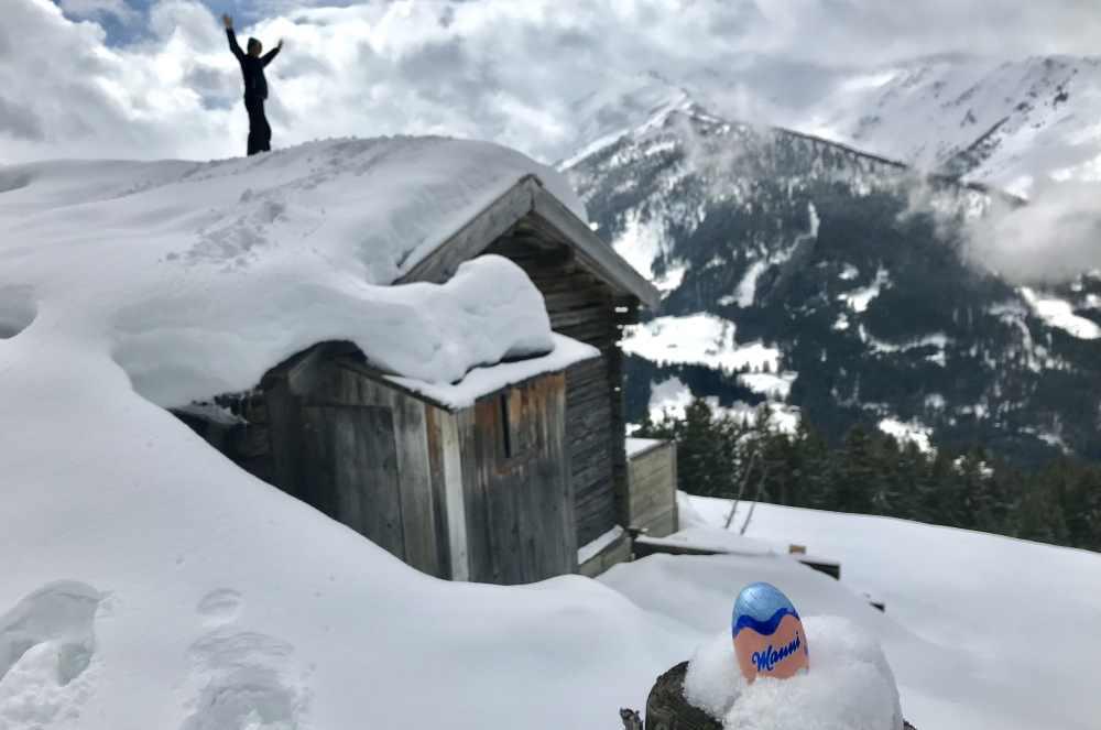 Osterurlaub mit Kindern im Schnee
