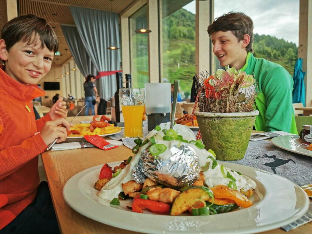 So gut kannst du im Patscherkofel Restaurant essen