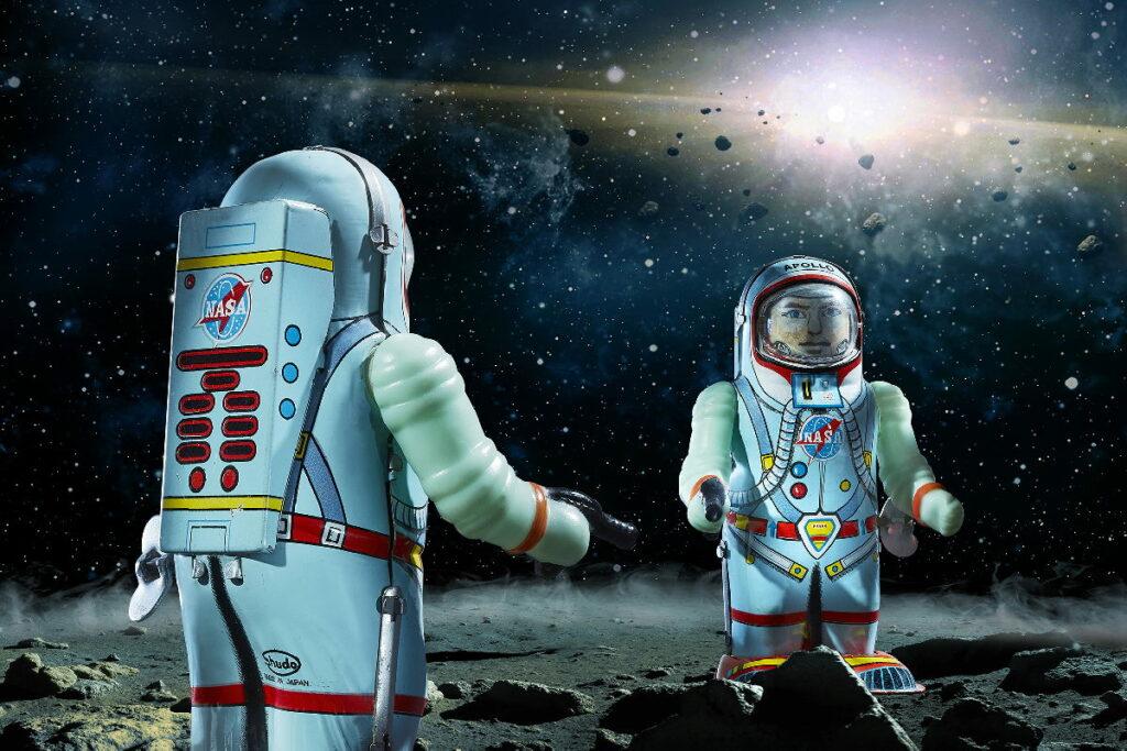 """""""Space Toys"""" - die Sonderausstellung im Hans-Peter Porsche Traumwerk, Bild: Traumwerk"""
