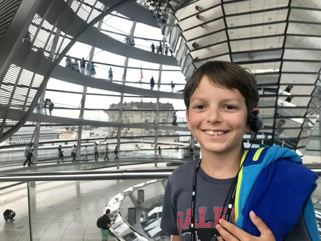 Reichstag Berlin mit Kindern - macht Spaß!