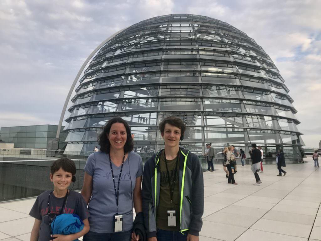 Reichstag Führung Berlin mit Kindern