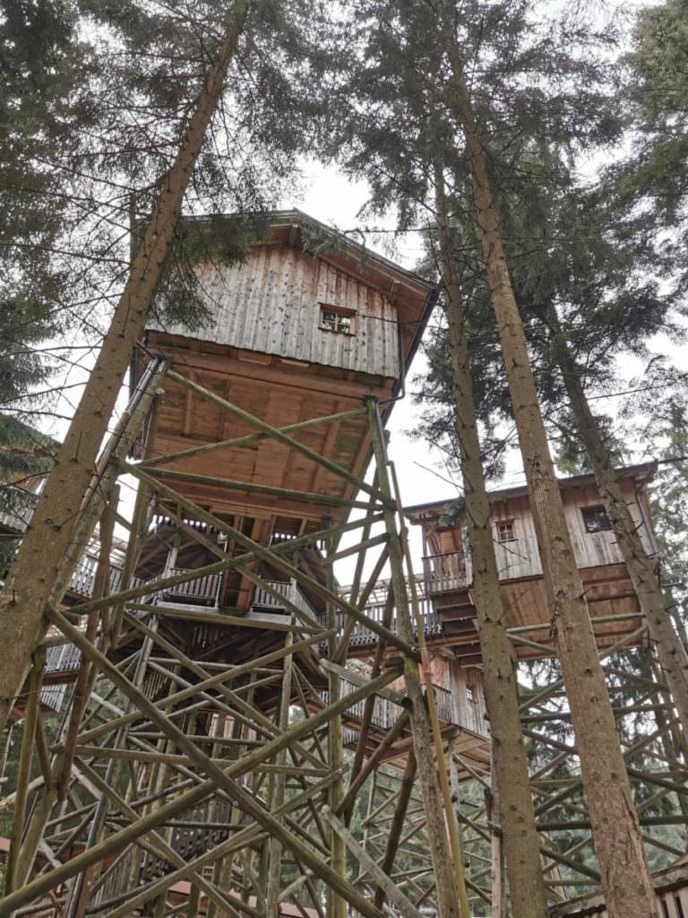 Reisen mit Kindern Blog - das einzigartige Baumhaushotel Kopfing