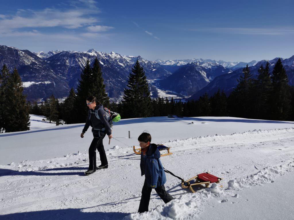 Außergewöhnlichste Rodelbahn Vorarlberg: Die Rodelsafari