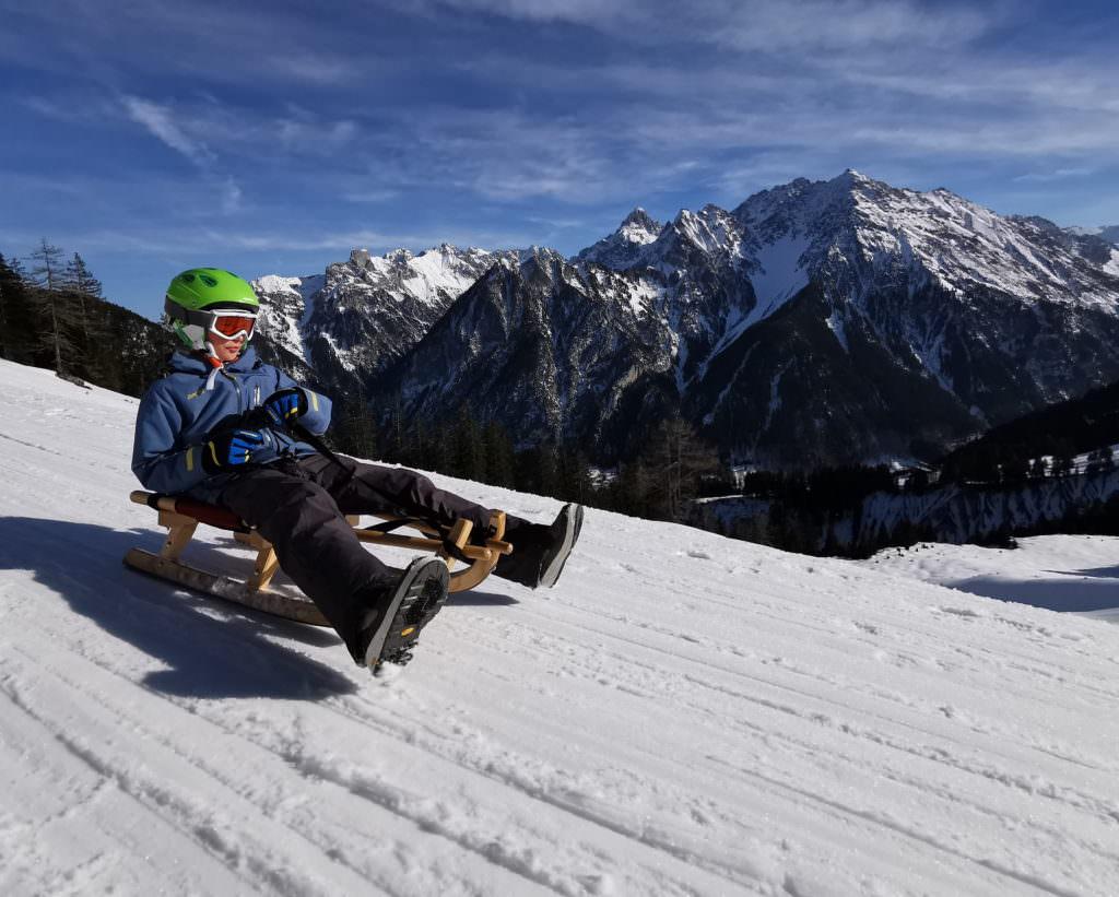 Rodeln Österreich macht Spaß