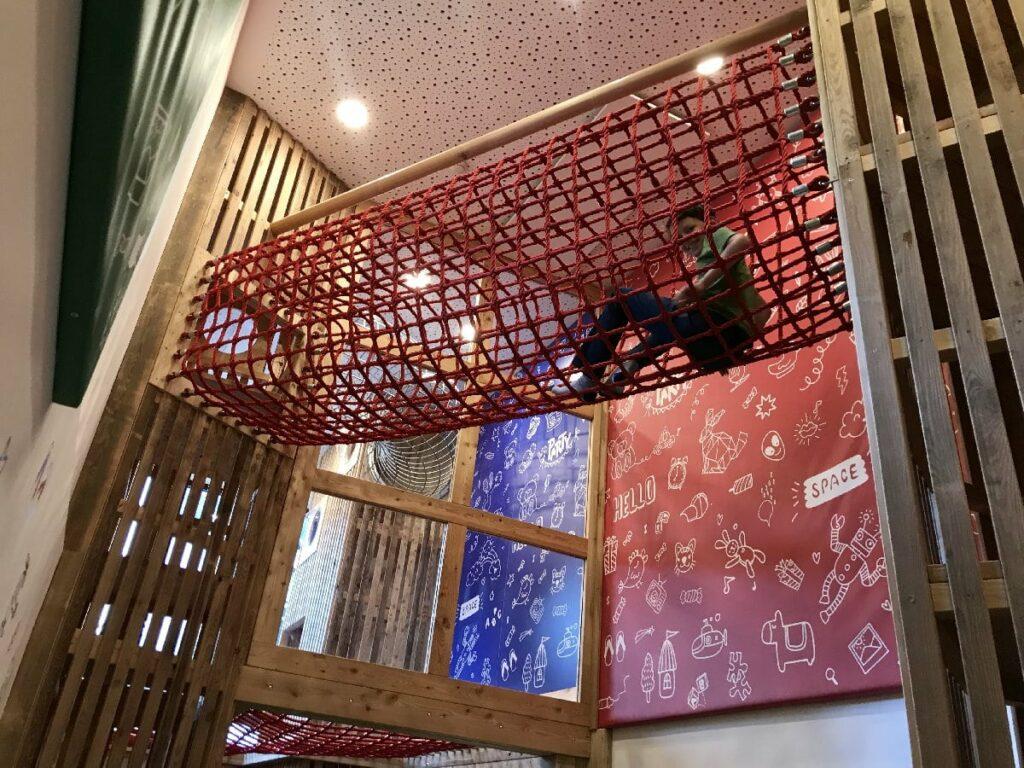 Familienhotel mit Kinderbetreuung bietet das JUFA, plus den großen Spielbereich