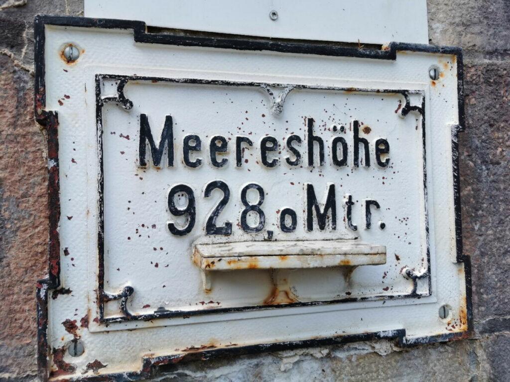 Unser Start ins Salzbergwerk: Auf 928 Metern!