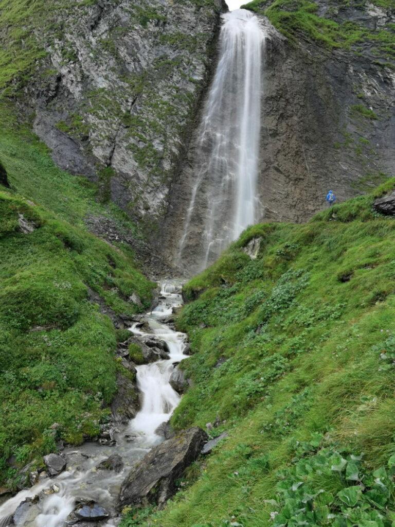 Der Schleierwasserfall Tux im Zillertal