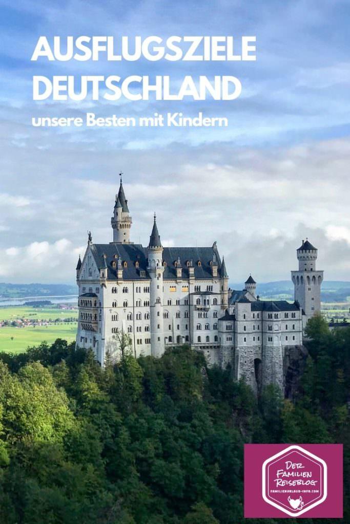 Schloss Neuschwanstein mit Kindern - merken für deinen nächsten Ausflug oder Urlaub