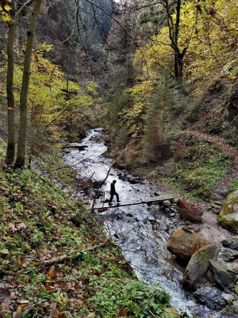 Über viele Brücken auf dem Schluchtweg Millstatt wandern