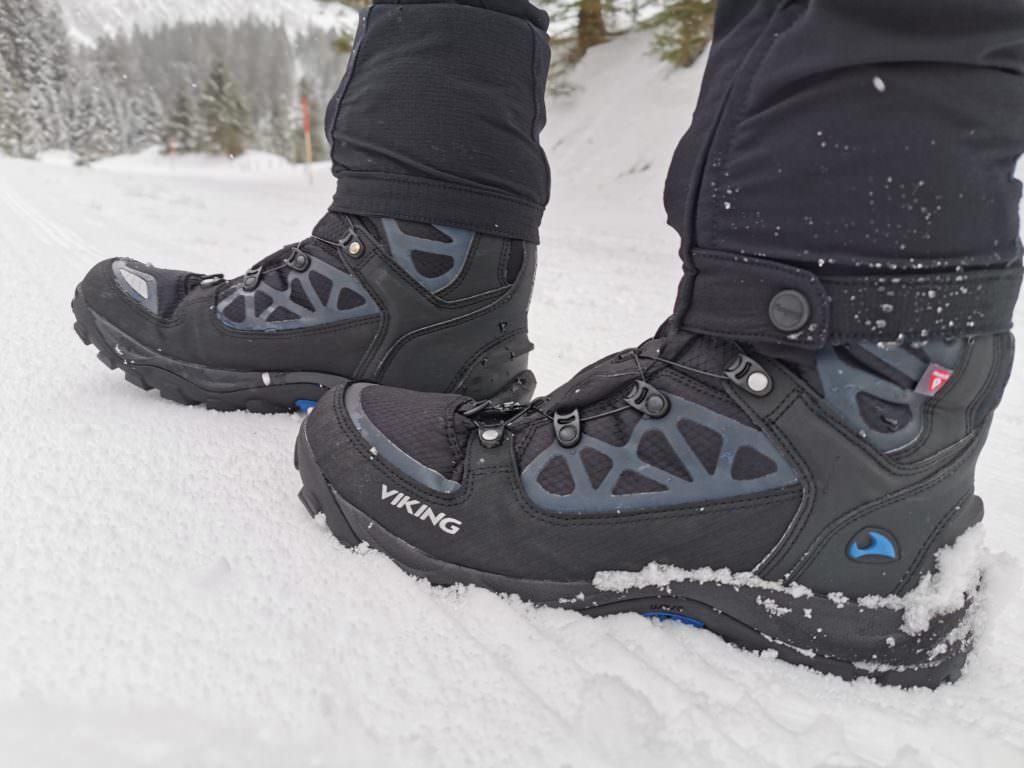 Schuhe zum Rodeln auf der Rodelbahn Vorarlberg