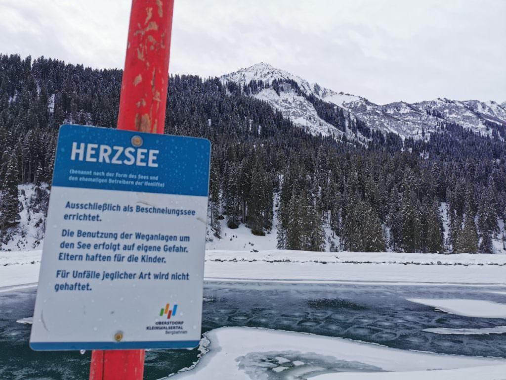 Schwarzwassertal Herzsee