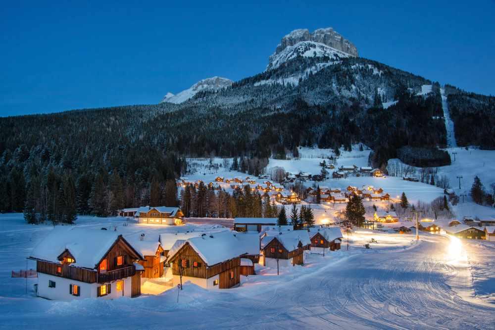 Ski Osterurlaub mit Kindern: Hüttenurlaub in der Hagan Lodge