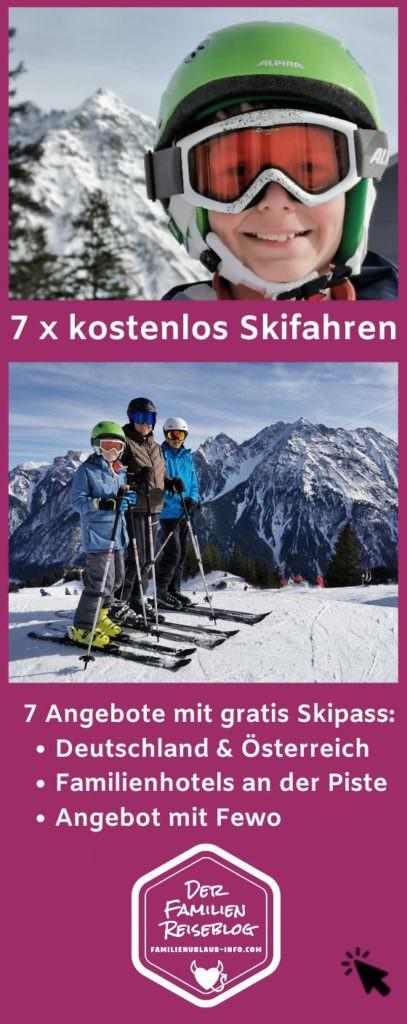 Skigebiet Kinder kostenlos merken