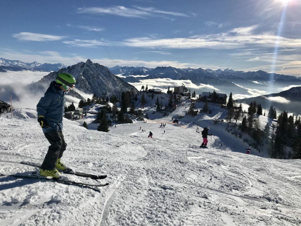 So herrlich ist es im Skigebiet Rofan mit Kindern
