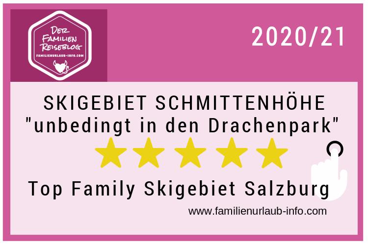 Skigebiet Schmittenhöhe mit Kindern
