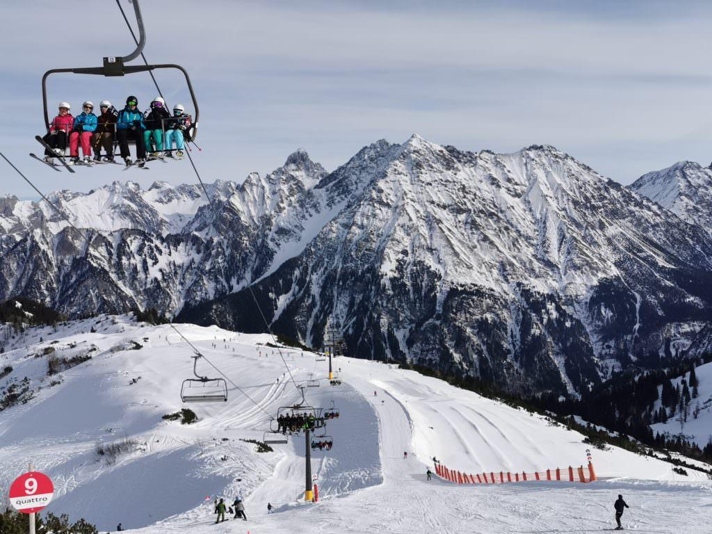 Skiurlaub mit Kindern Vorarlberg: Das ist die Abfahrt ganz oben im Brandnertal