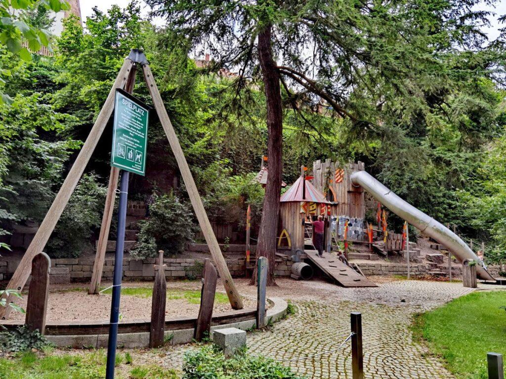 Spielplatz Görlitz - an der Neisse, nahe der Brücke nach Polen