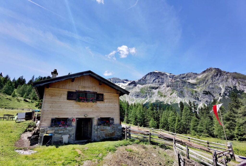Die Steineralm oberhalb des Obernberger See