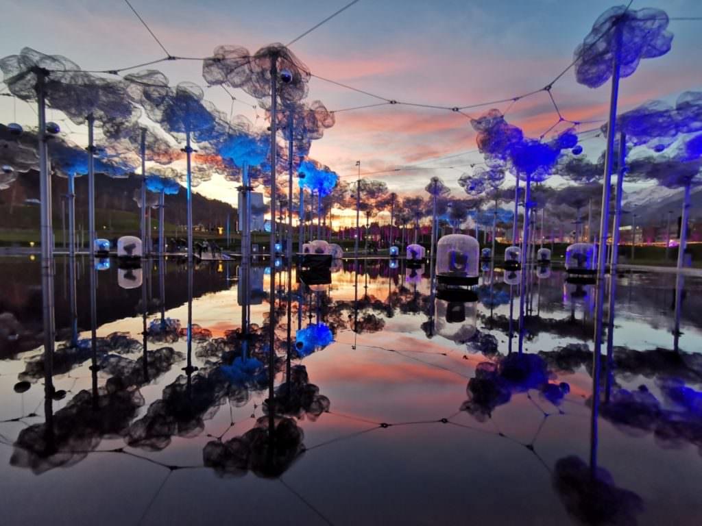 Swarovski Kristallwelten Wattens - im Dezember und den Weihnachtsferien: Lichtfestival