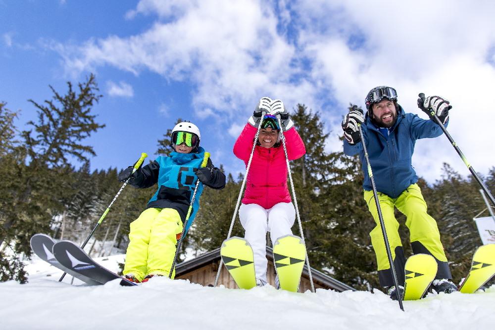 Loser Skigebiet mit Familie, Bild: TVB Ausseerland Salzkammergut Loser Bergbahnen, TomLamm