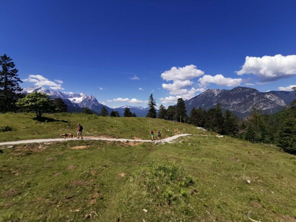 Leichter Ausflug nach Garmisch Partenkirchen mit Kindern