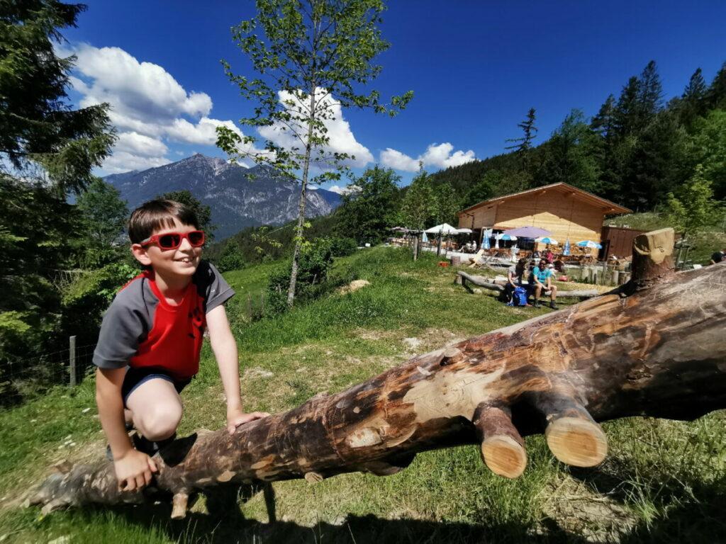 Die Tannenhütte - traumhafter Ausflug in Garmisch Partenkirchen mit Kindern