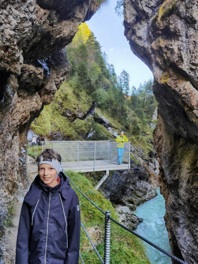 Tirol wandern mit Kindern - im Oktober die Natur genießen