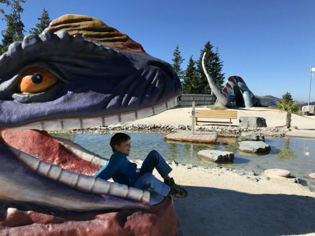 Wanderziel mit Kinderwagen: Der Triassic Park